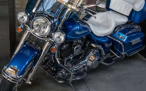 Harley Davidson Motorcycle Harley Chrome Motor