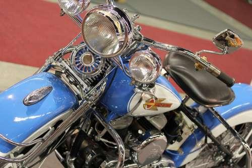 Harley Davidson Motorbike Motorcycle Bike Harley
