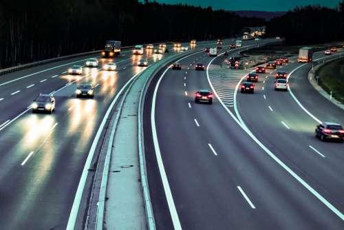 Highway Speed Night Travel Vehicle Lead