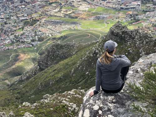Hike Hiking Adventure Outdoors Mountain Cape Town