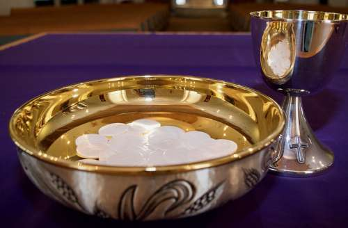 Host Catholic Communion Jesus Church Chalice