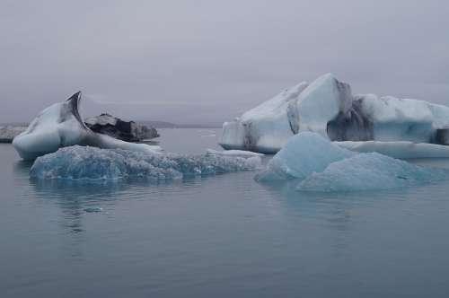 Iceland Icebergs The Glacier Sea