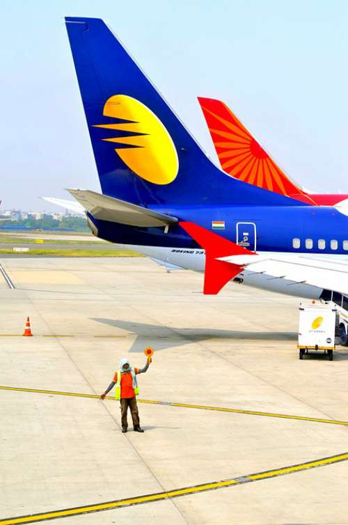 India Plane Airport Flying Travel Transport