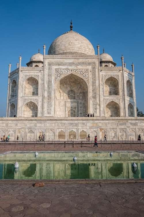 India Asia Taj-Mahal Marble Culture Travel Agra