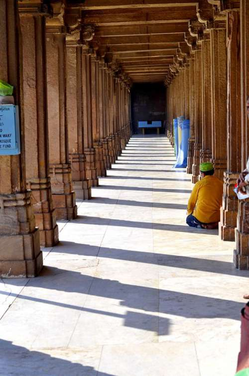 India Muslim Ahmedabad Architecture Tourism