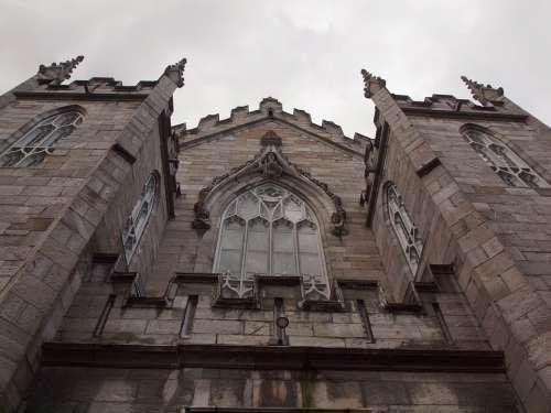 Ireland Grey Building Church Stone