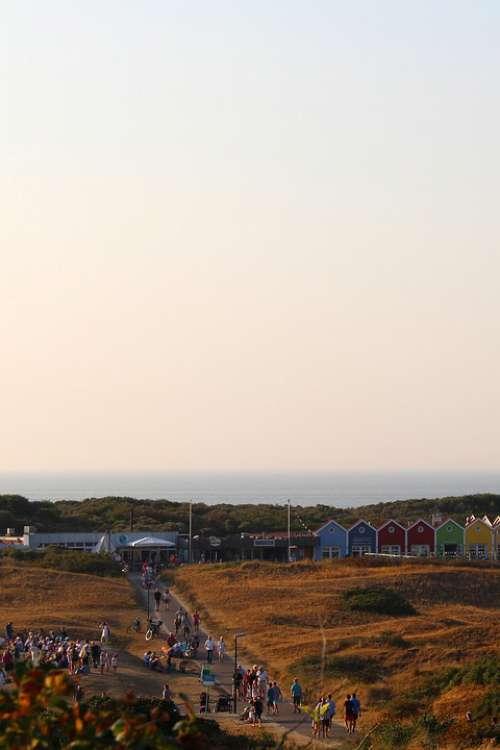 Island Langeoog East Frisia North Sea Coast Sea