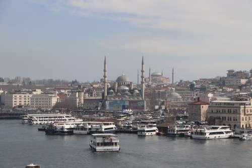 Istanbul Eminönü Fatih Cami Islam Muslim City