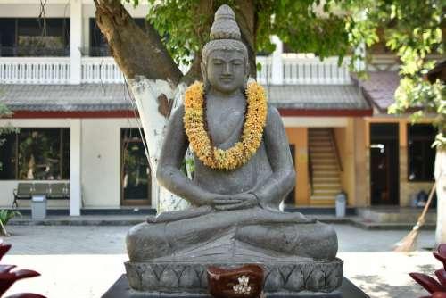 Java Religion Temple Statue Mojokerto Patung
