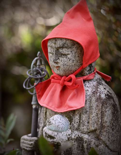 Jizo Japan Guardian Deity Of Children Traditional