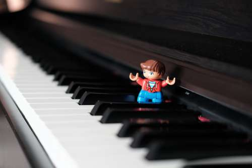 Keyboard Piano Lego Instrument Keys Entertainment