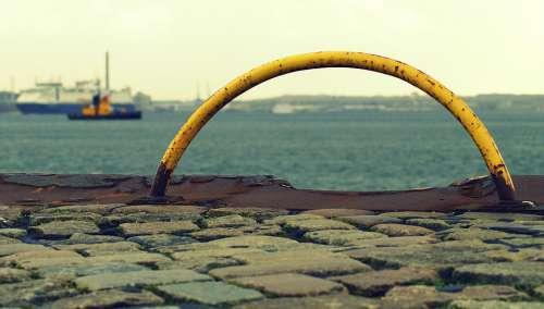 Kiel Kai Mecklenburg Tourism Port Ships Hörn