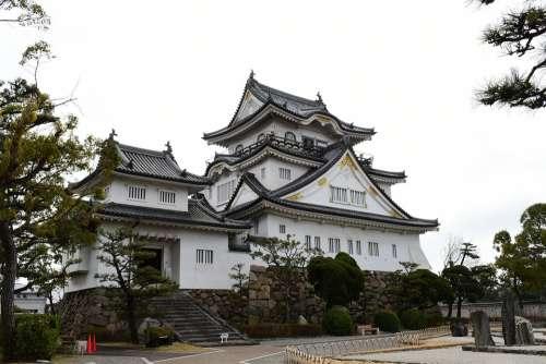 Kishiwada Castle Japan Japanese Castle Osaka