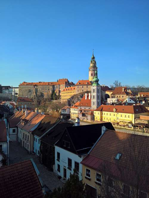 Krumlov Castle Bohemia Unesco Architecture History