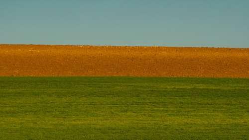 Laid Plow Field Agriculture Sow Landscape