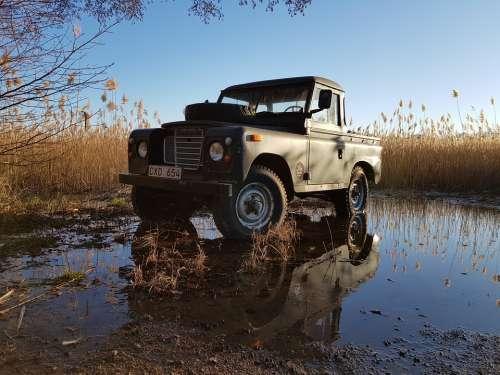 Land Rover Spring Flood Used Car Car Jeep 4X4