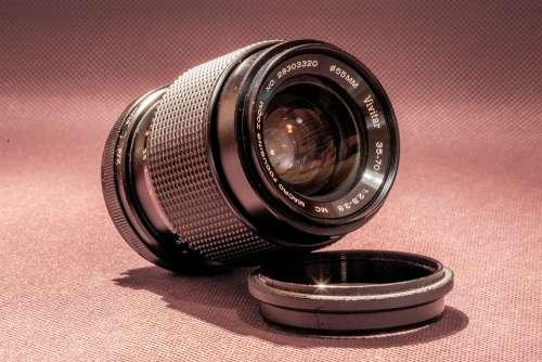 Lens Photo Analog Old Photographer Professional