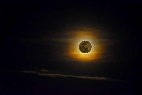 Luna Full Moon Perigee