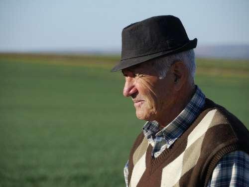 Man Age Turk Portrait Male Pensioners Sad