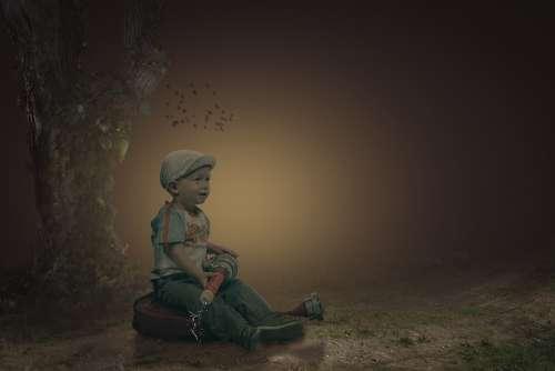 Manipulation Children Playing Children Landscape