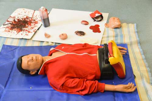 Mannequin Relief Teaching Help Care Education