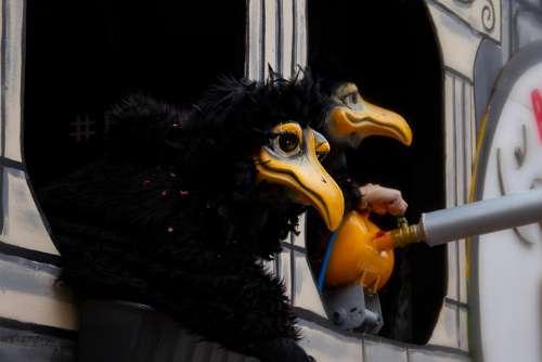Mask Basel Carnival Fun Move Costume Larva