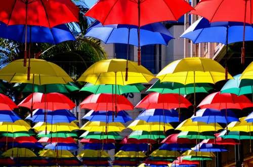 Mauritius Happiness Parasol Umbrella Vacations