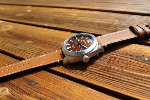 Mens Clock Automatic Wood Floor Sun