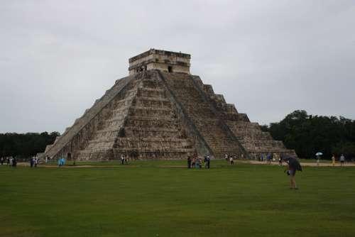 Mexico Chichen Itza Pyramids Monuments
