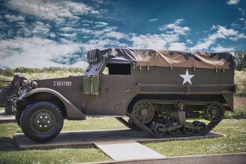 Military Vehicle World War 2 Army Tank Normandy
