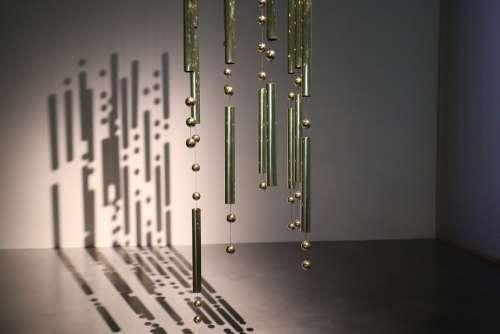 Modern Art Design Copper Hose Creative Light