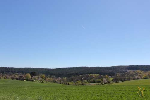 Mont-Gargan Limousin Sky Nature Landscape