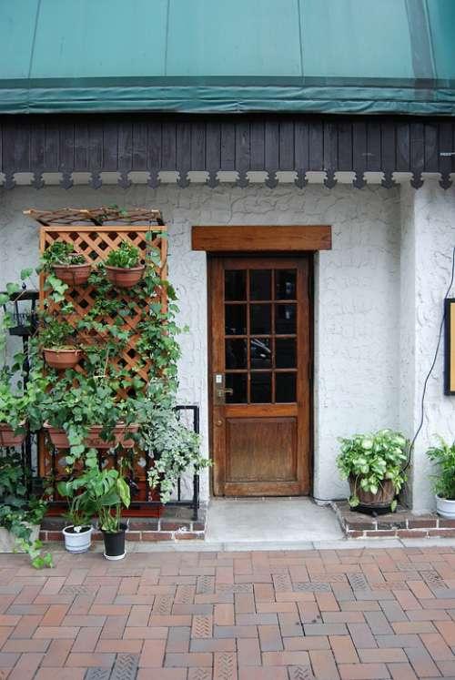 Moon Cafe A Small Collection Restaurant Entrance