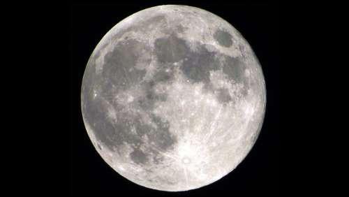 Moon Full Moon Moonlight Lunar Astronomy Luna
