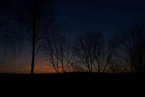 Morning Landscape Nature Sunrise Sky Mood