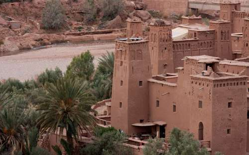 Morocco Africa Village Mountains House Pise