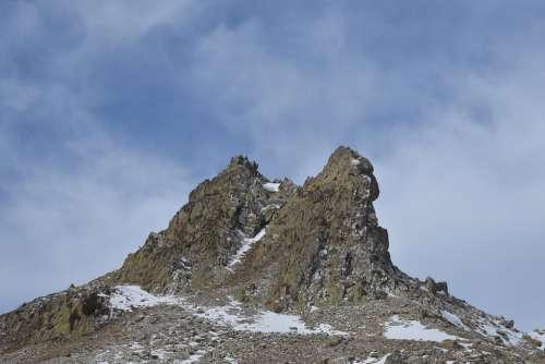 Mountaña Spain Peña Foratata Nature