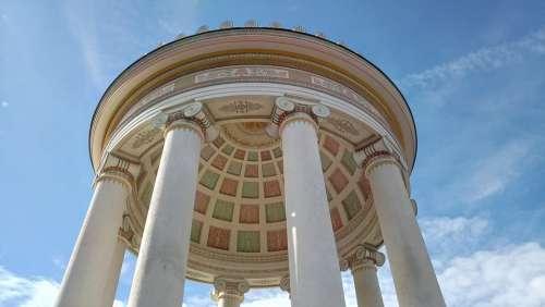 Munich Temple Monopteros English Garden Monument