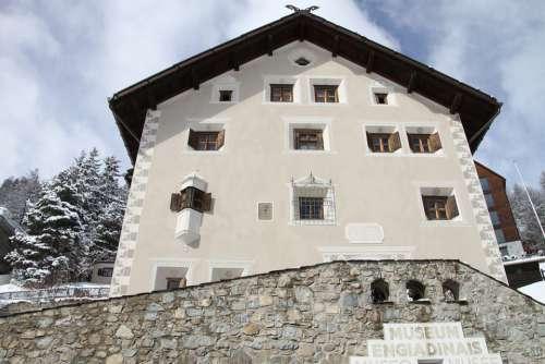 Museum Engadin Stmoritz Graubünden Switzerland