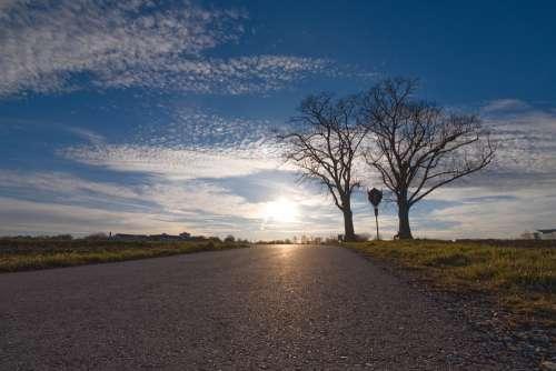 Nature Sun Clouds Blue Landscape Sky Mood