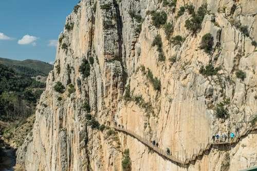 Nature Landscapes Malaga Andalusia Panorama