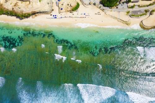 Ocean Water See Sea Blue Beach Sky Nature