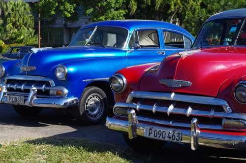 Oldtimer Havana Cuba Caribbean 50 Cars