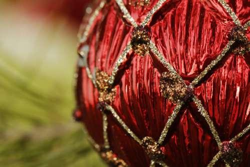 Ornament Christmas Holiday Bulb Fancy Decoration