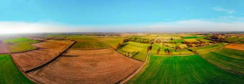 Overview Campaign Agricultural Fields Drone