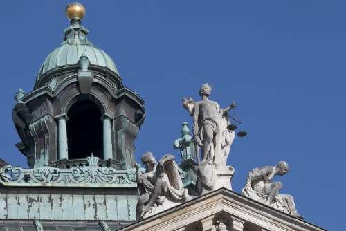 Palace Of Justice Munich Bavaria
