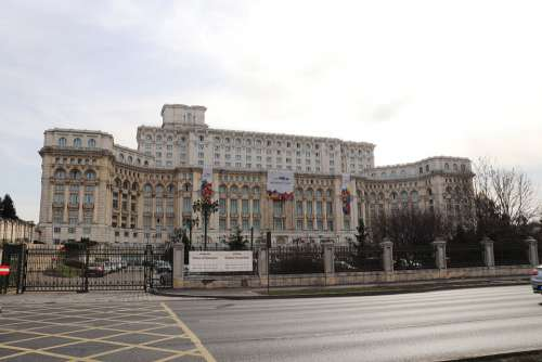 Palace Of The Parliament Romania Bucharest