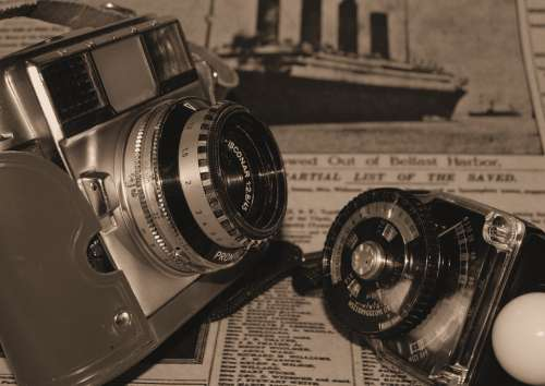 Photography Vintage 35Mm Film Camera Exposure Meter