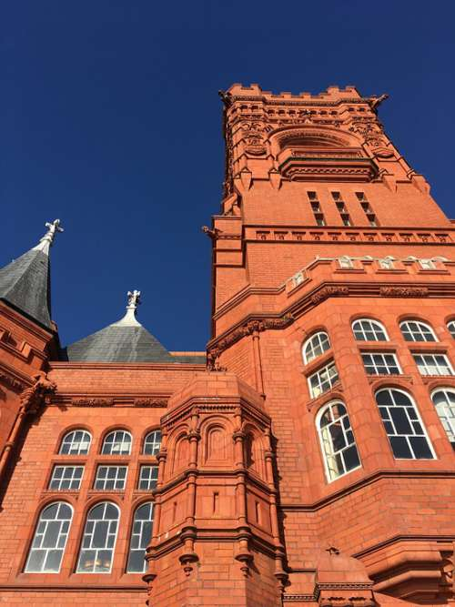 Pierhead Building Old Cardiff Cardiff Bay