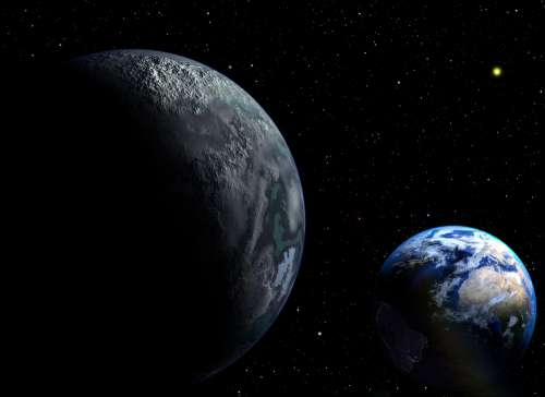 Planet Cosmos Space The Ninth Planet Fantasy Land